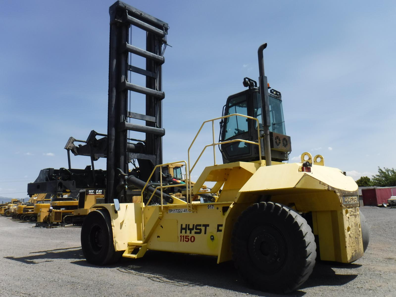MONTACARGAS PARTA CONTENEDORES, HYSTER, 1150HD, MONTACARGAS PARA PUERTOS,  EQUIPOS PARA CONTENEDORES,